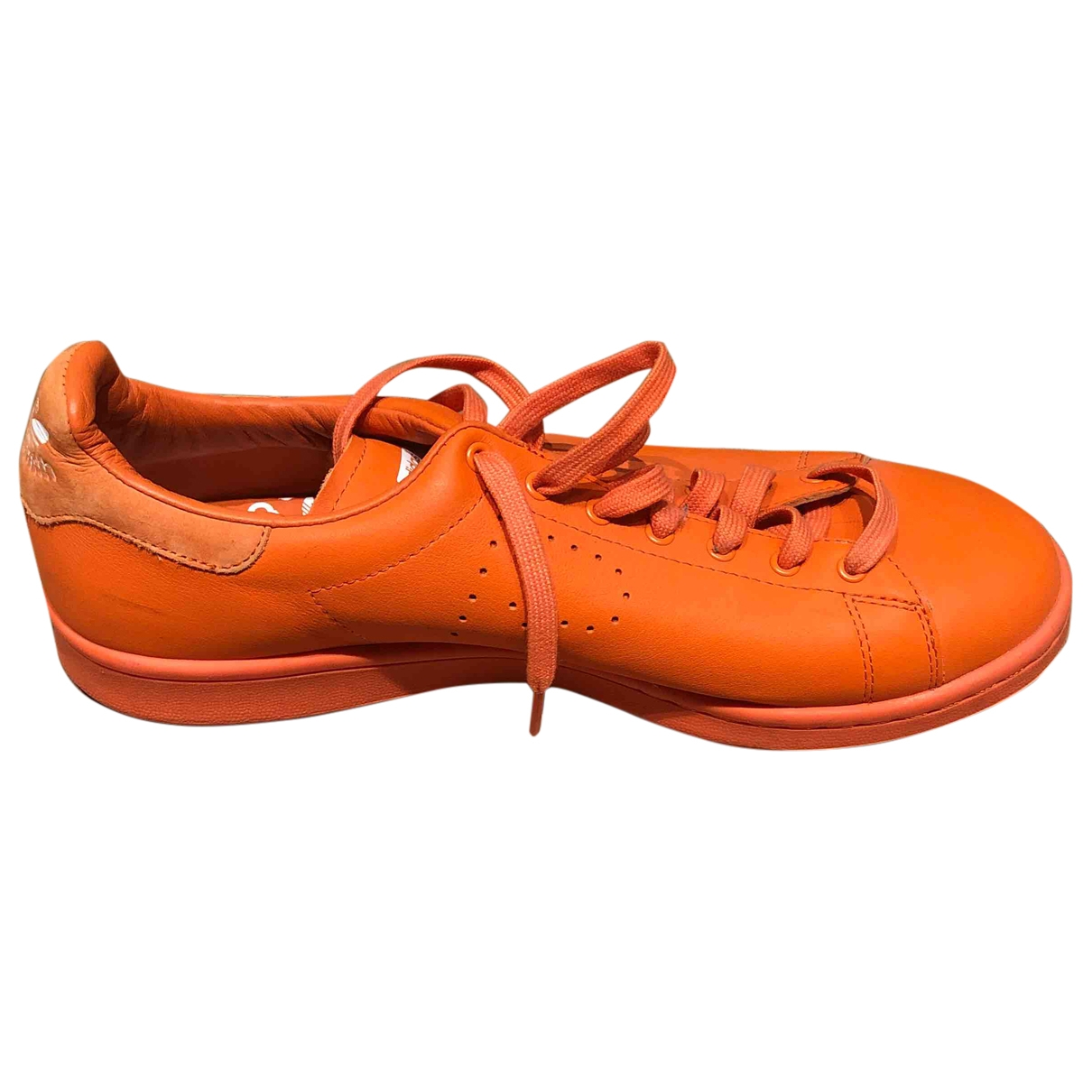 Adidas X Raf Simons - Baskets Stan Smith pour homme en cuir - orange