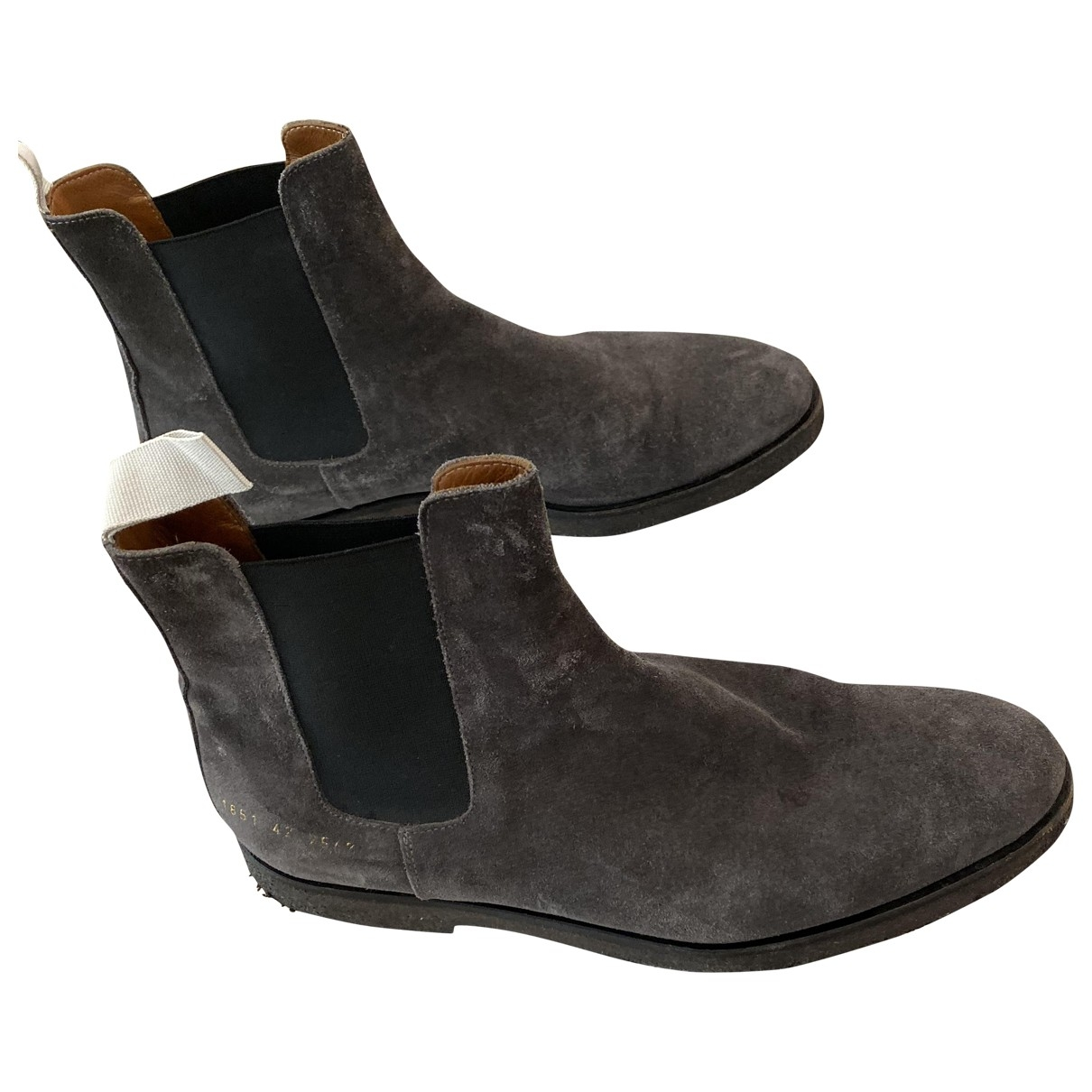 Common Projects \N Grey Suede Boots for Men 42 EU