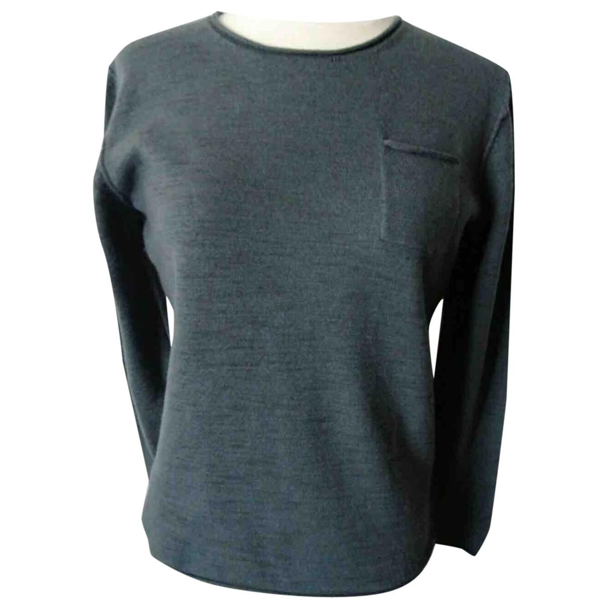 Karl Lagerfeld \N Pullover.Westen.Sweatshirts  in  Grau Wolle