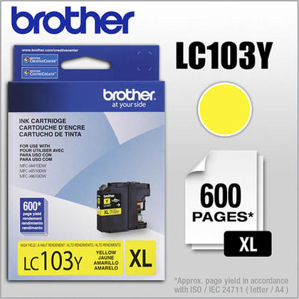 Brother MFC-J4410DW Original Yellow Ink Cartridge, High Yield