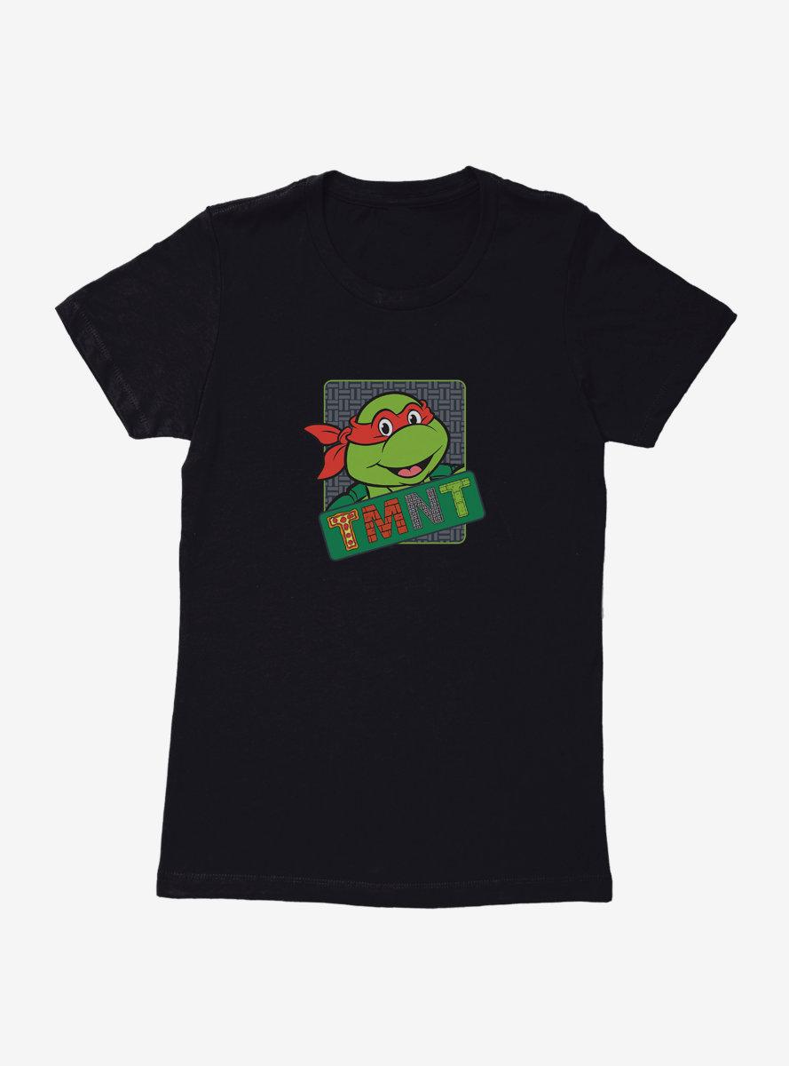 Teenage Mutant Ninja Turtles Meet Raphael Womens T-Shirt