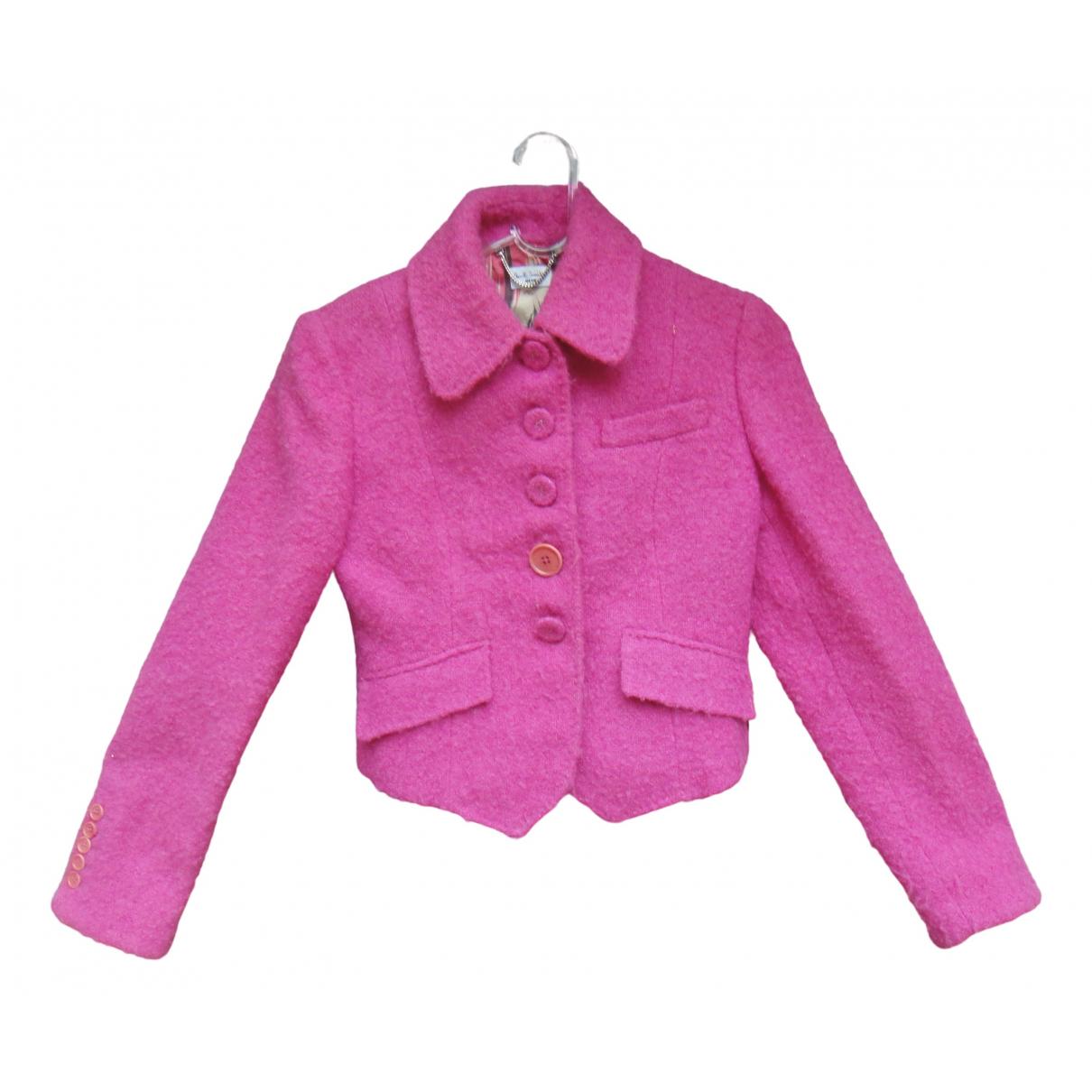 Paul Smith - Veste   pour femme en laine - rose