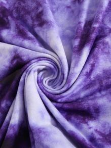Butterfly Print Tie Dye Dress