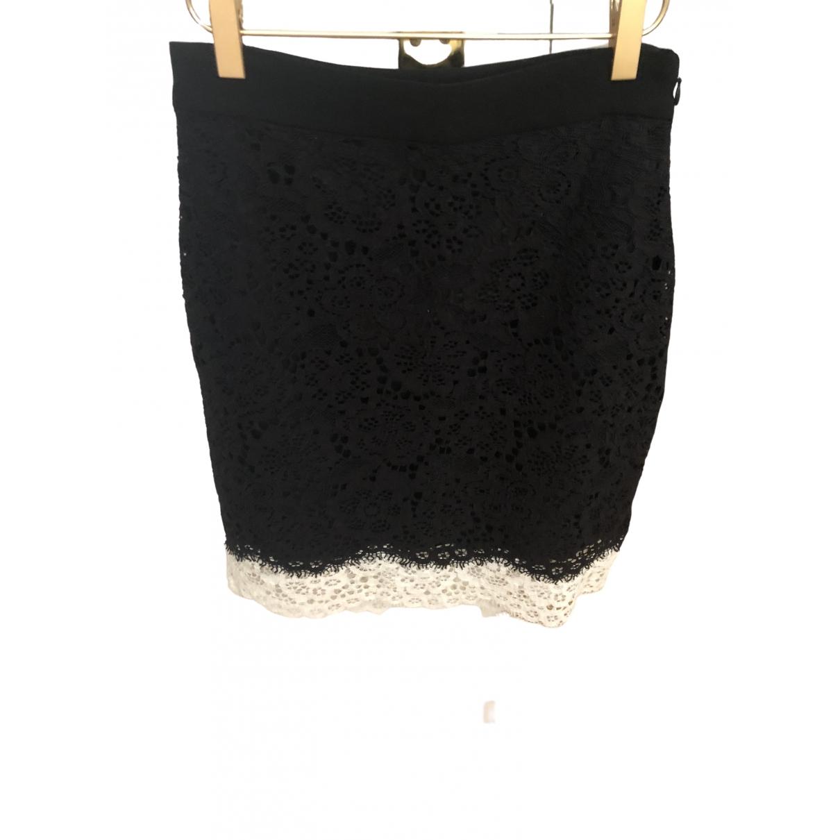 Claudie Pierlot - Jupe Fall Winter 2019 pour femme en coton - noir