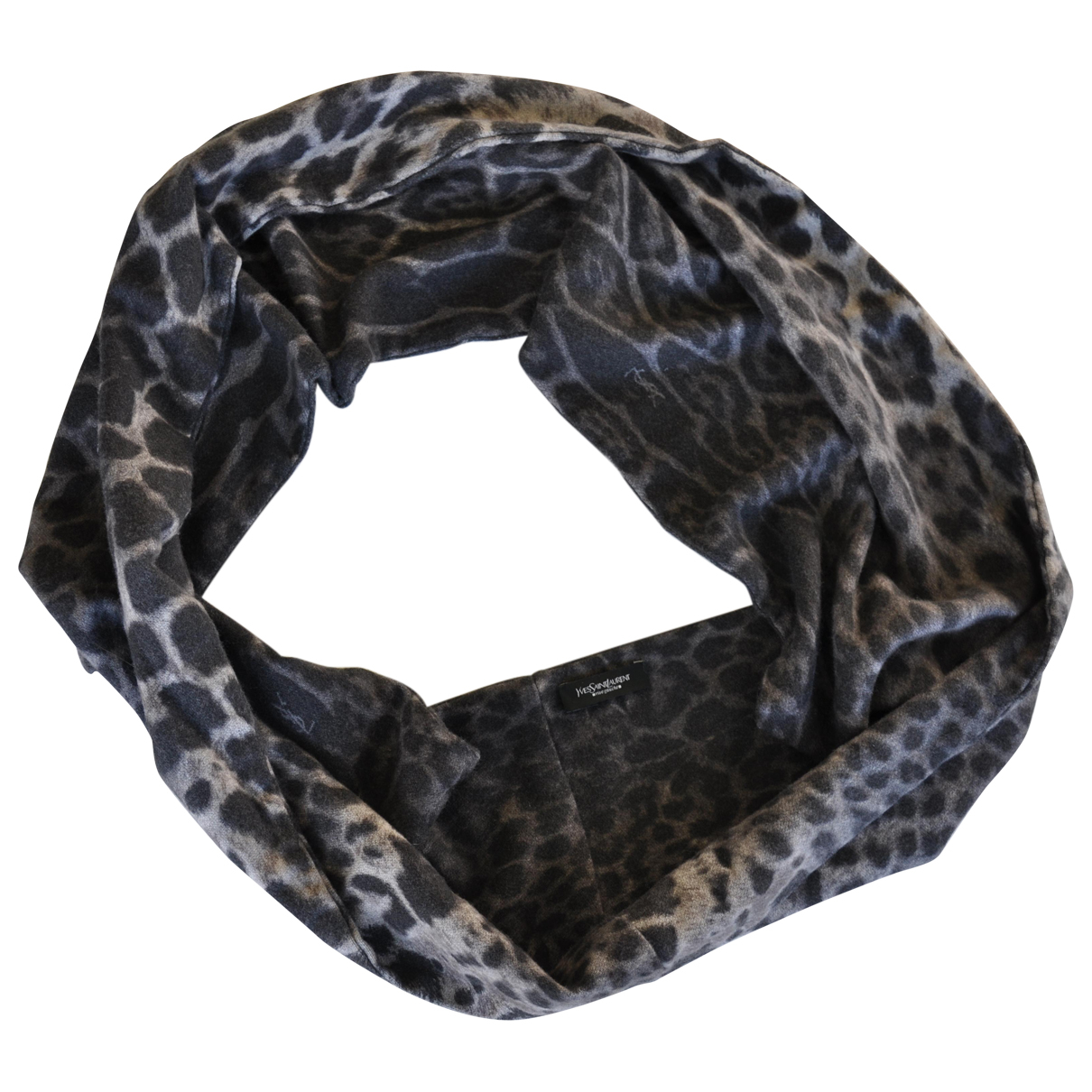 Yves Saint Laurent \N Grey Cashmere scarf for Women \N