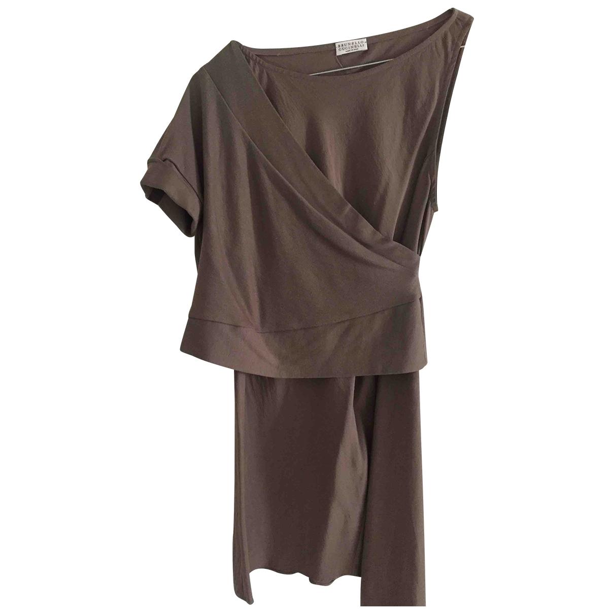 Brunello Cucinelli - Top   pour femme en soie
