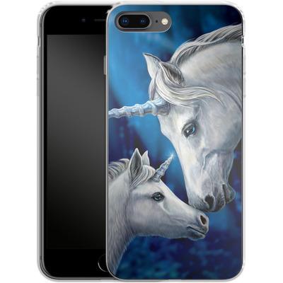Apple iPhone 7 Plus Silikon Handyhuelle - Sacred Love von Lisa Parker