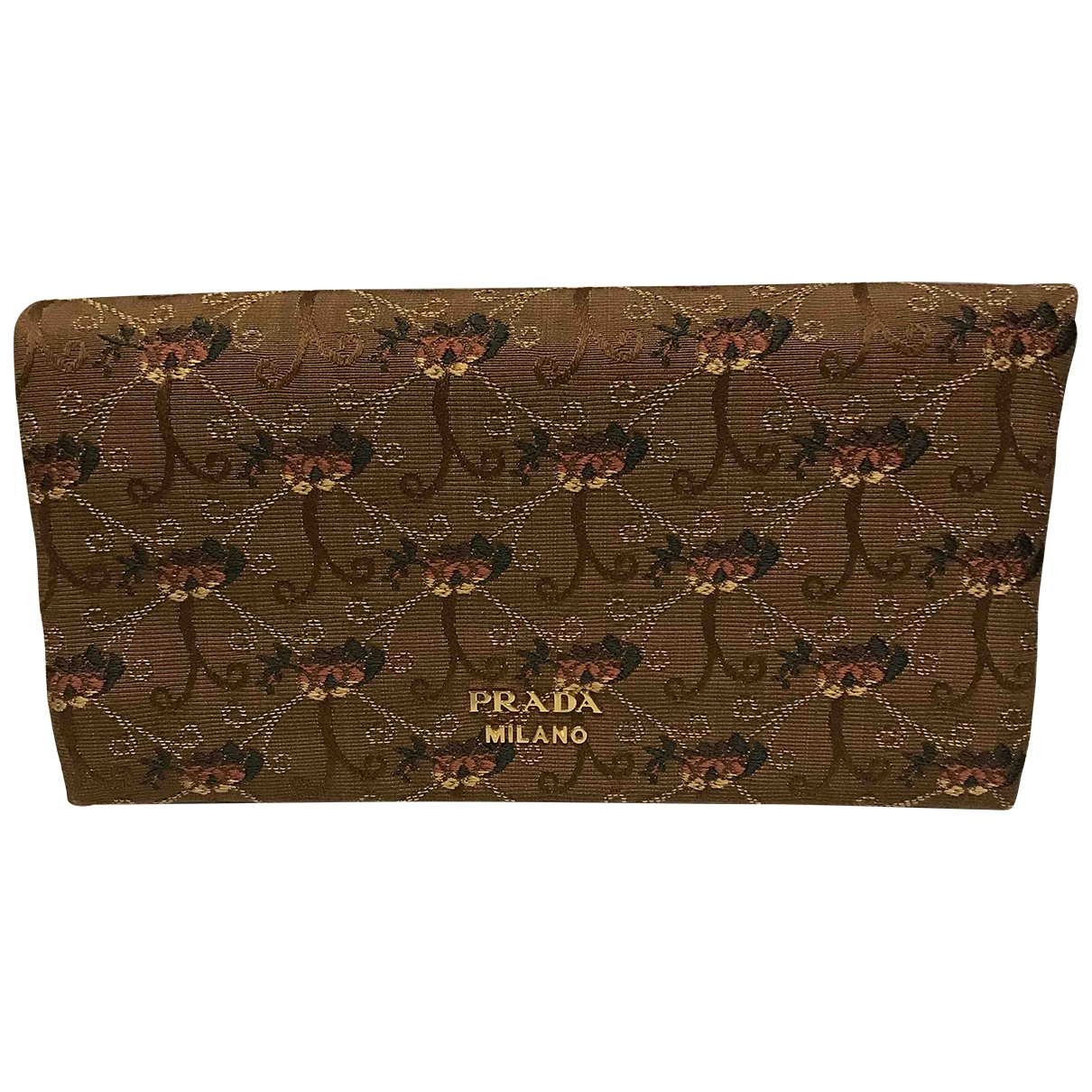 Prada \N Clutch in  Bunt Seide