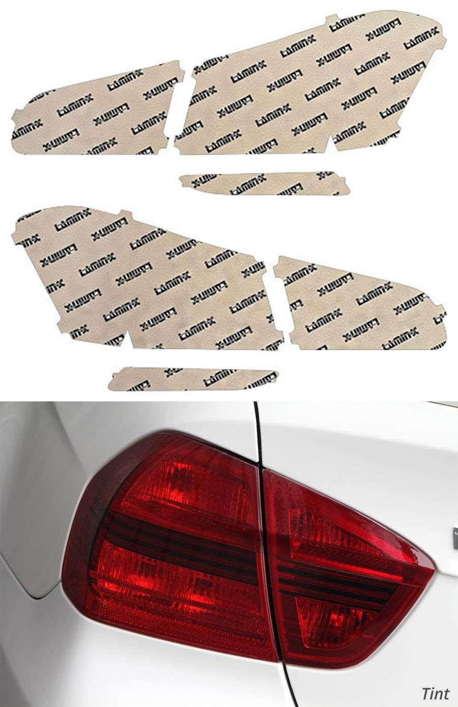Kia Forte Koup 14-16 Tint Tail Light Covers Lamin-X K231T