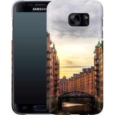 Samsung Galaxy S7 Smartphone Huelle - Speicherstadt von caseable Designs
