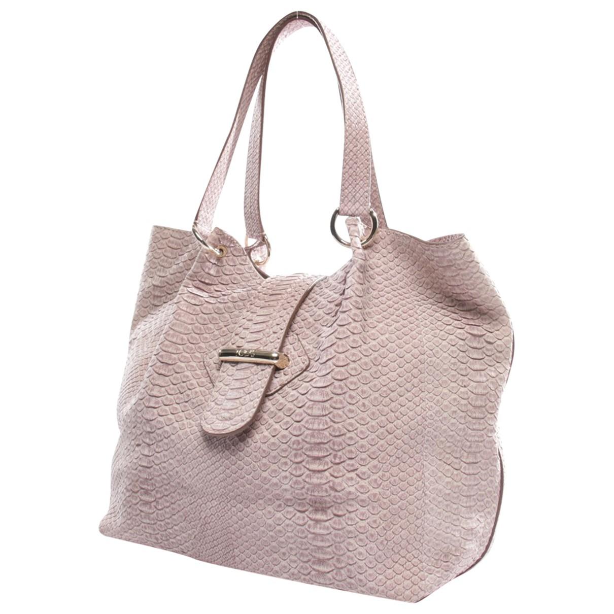 Tod's \N Purple Leather handbag for Women \N
