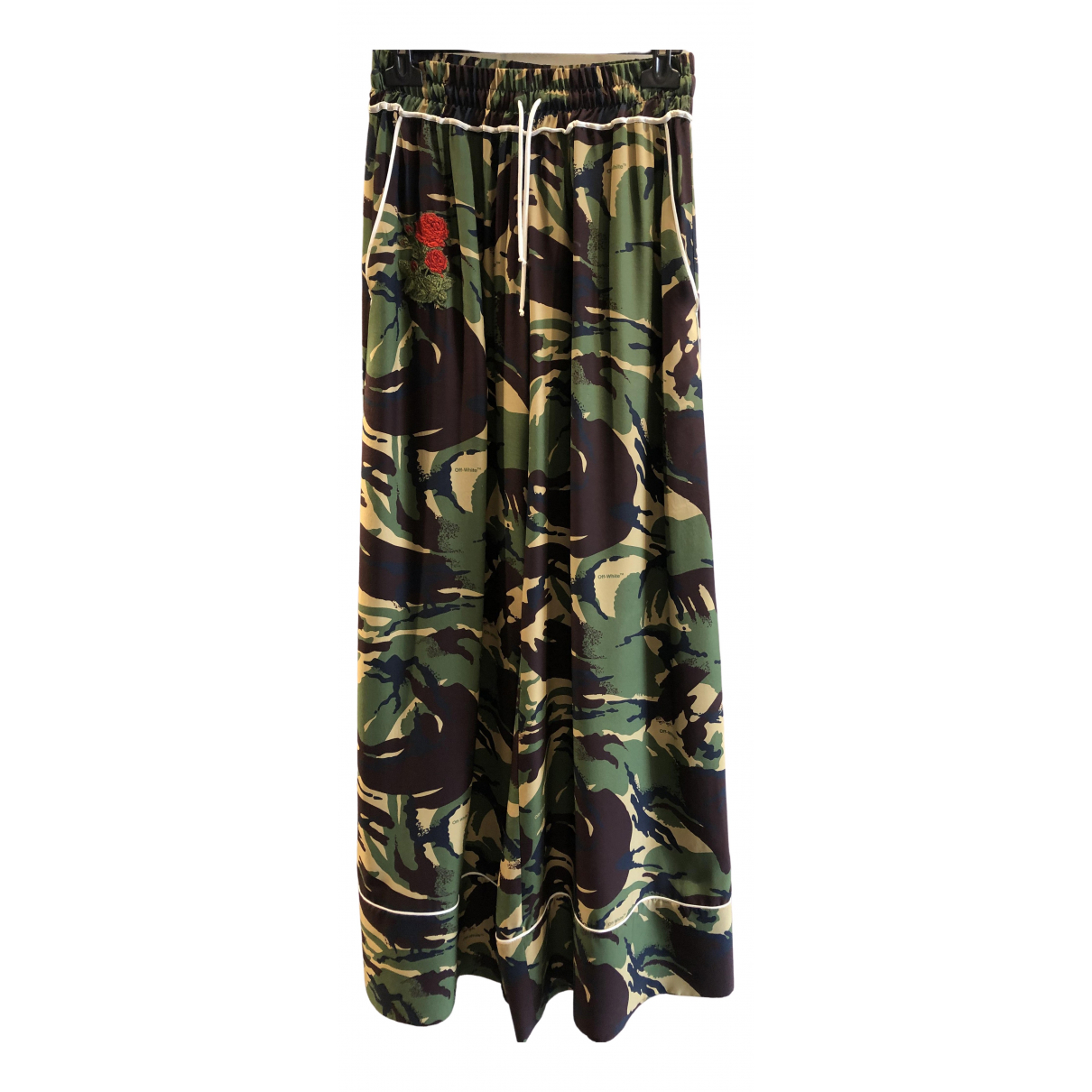 Off-white \N Multicolour Trousers for Women XS International