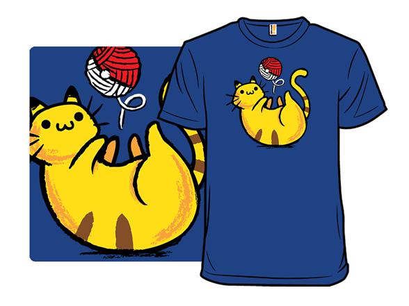 Kitty Catch T Shirt