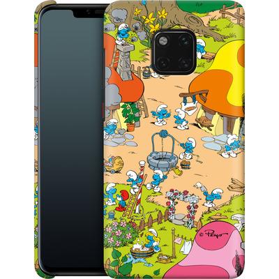 Huawei Mate 20 Pro Smartphone Huelle - Smurf Village von The Smurfs