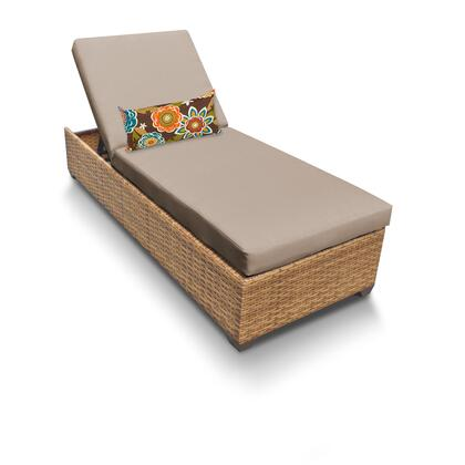LAGUNA-1x Laguna Chaise Outdoor Wicker Patio Furniture with 1 Cover in