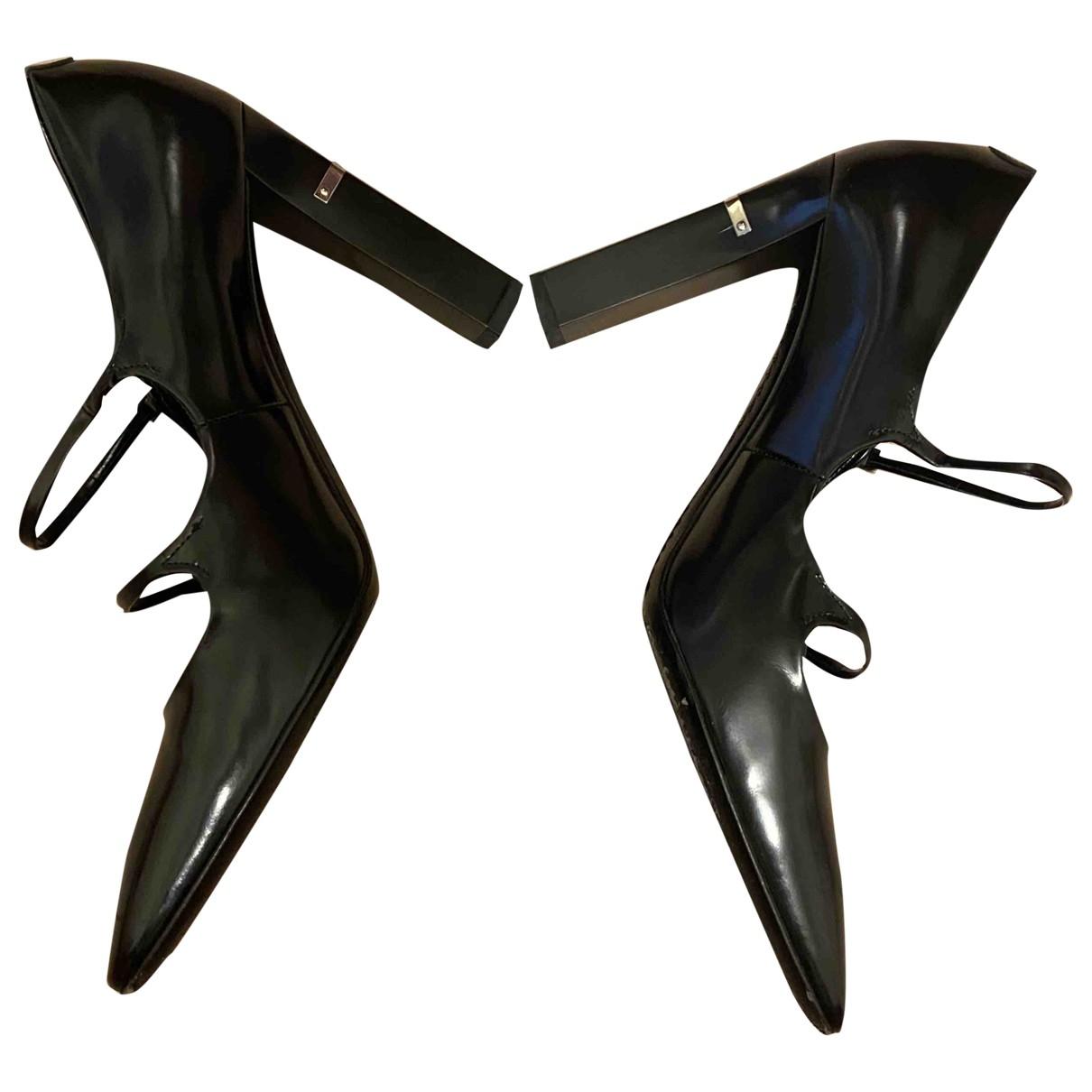 Louis Vuitton \N Pumps in  Schwarz Leder