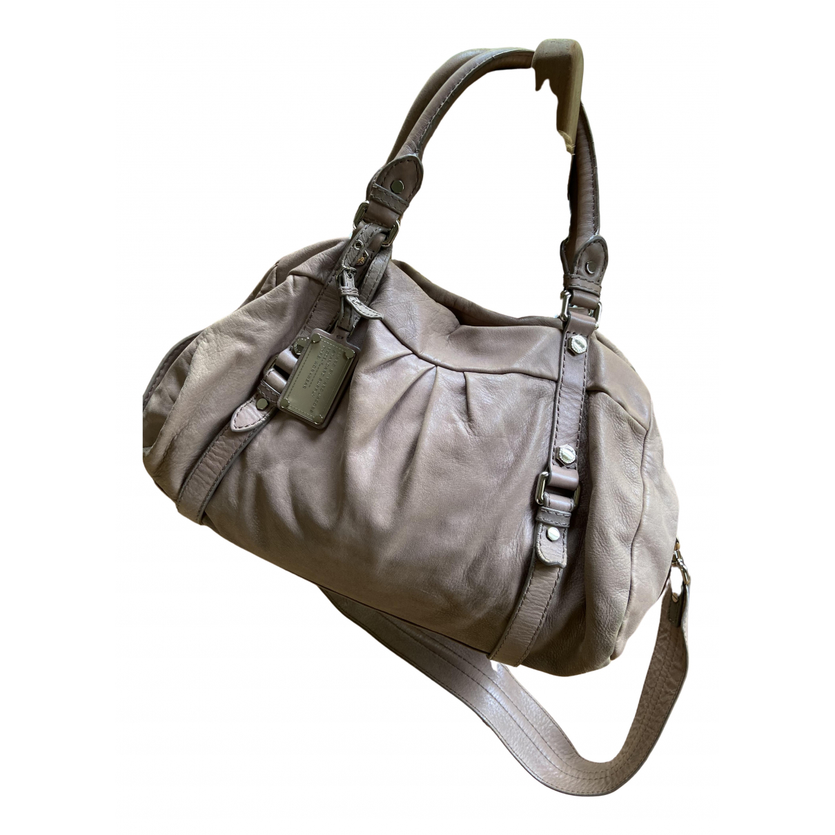 Marc By Marc Jacobs Classic Q Beige Leather handbag for Women N