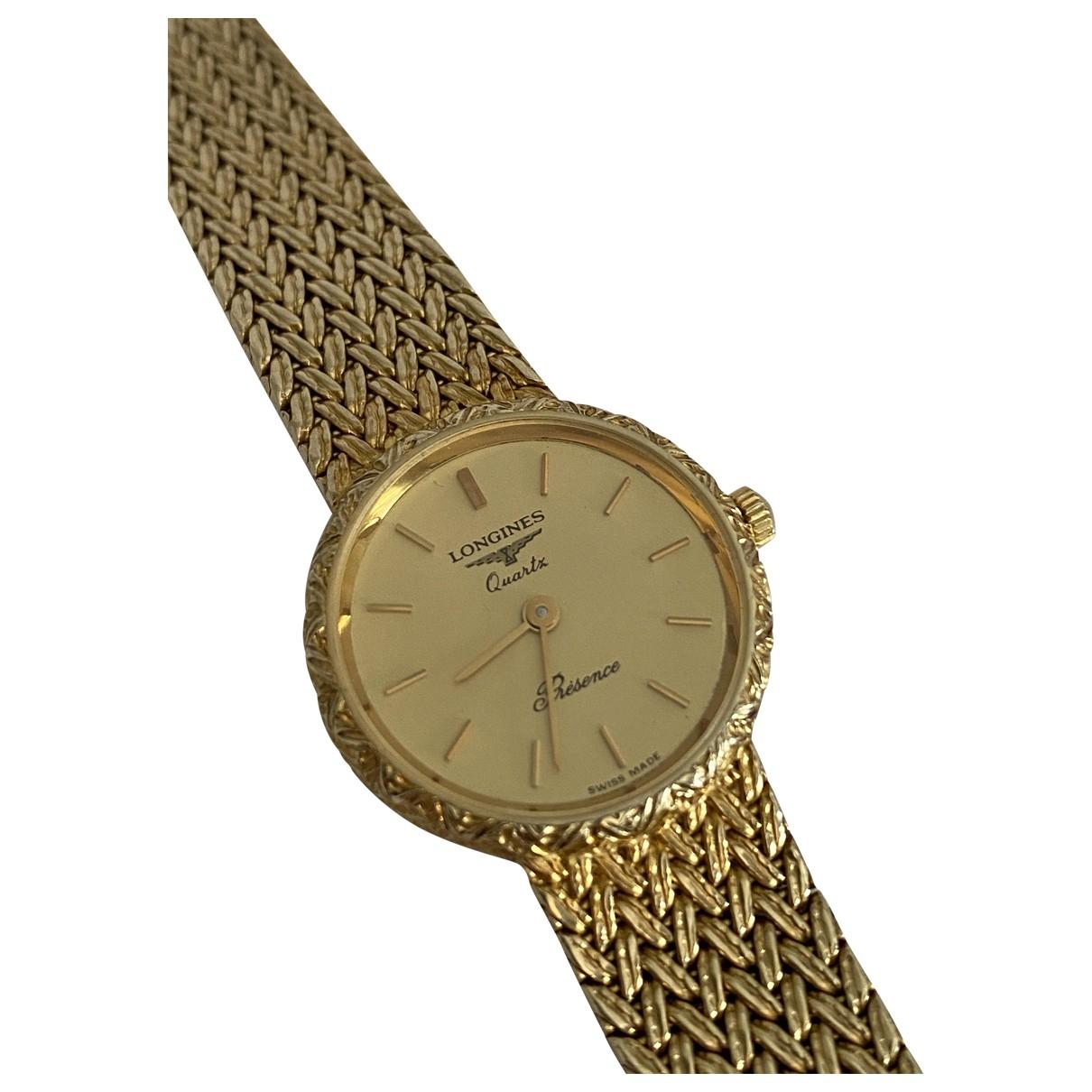 Reloj Presence de Oro amarillo Longines