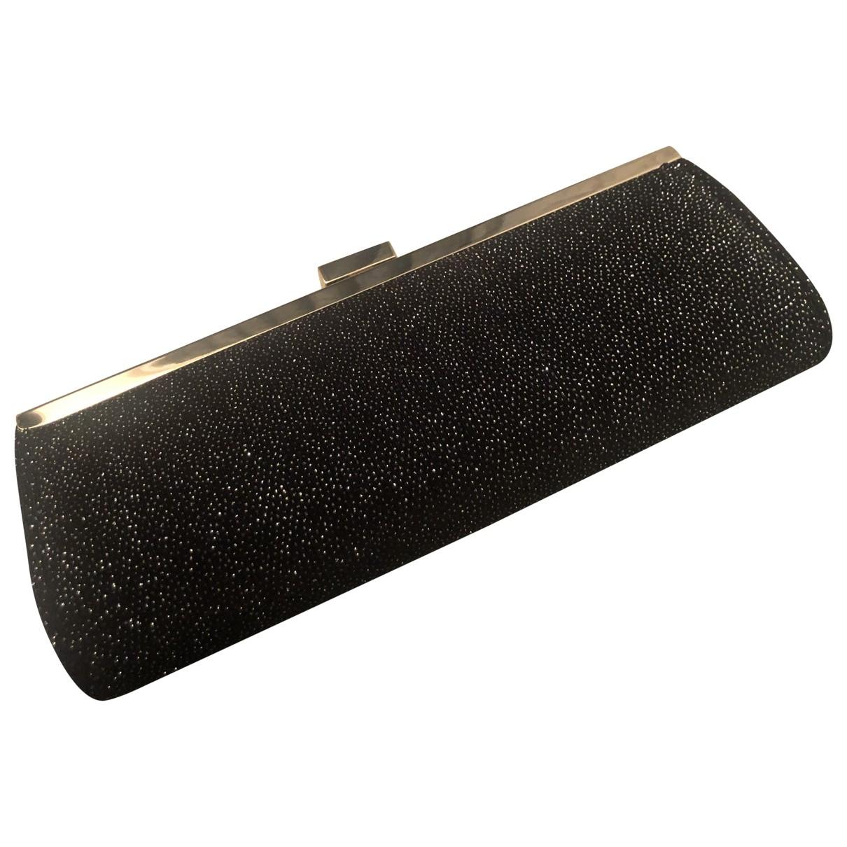 Dune - Pochette   pour femme en toile - noir