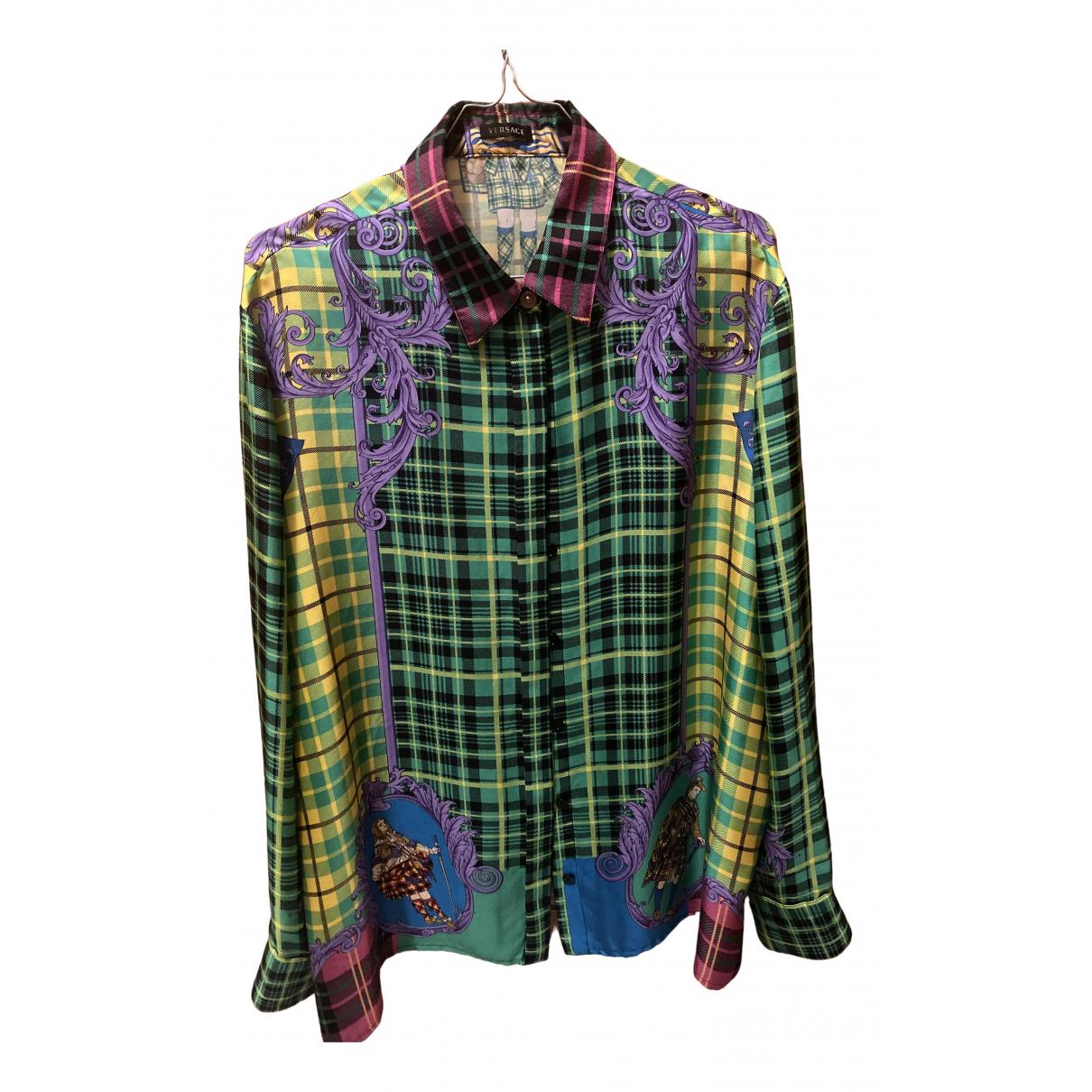 Versace \N Hemden in  Bunt Seide