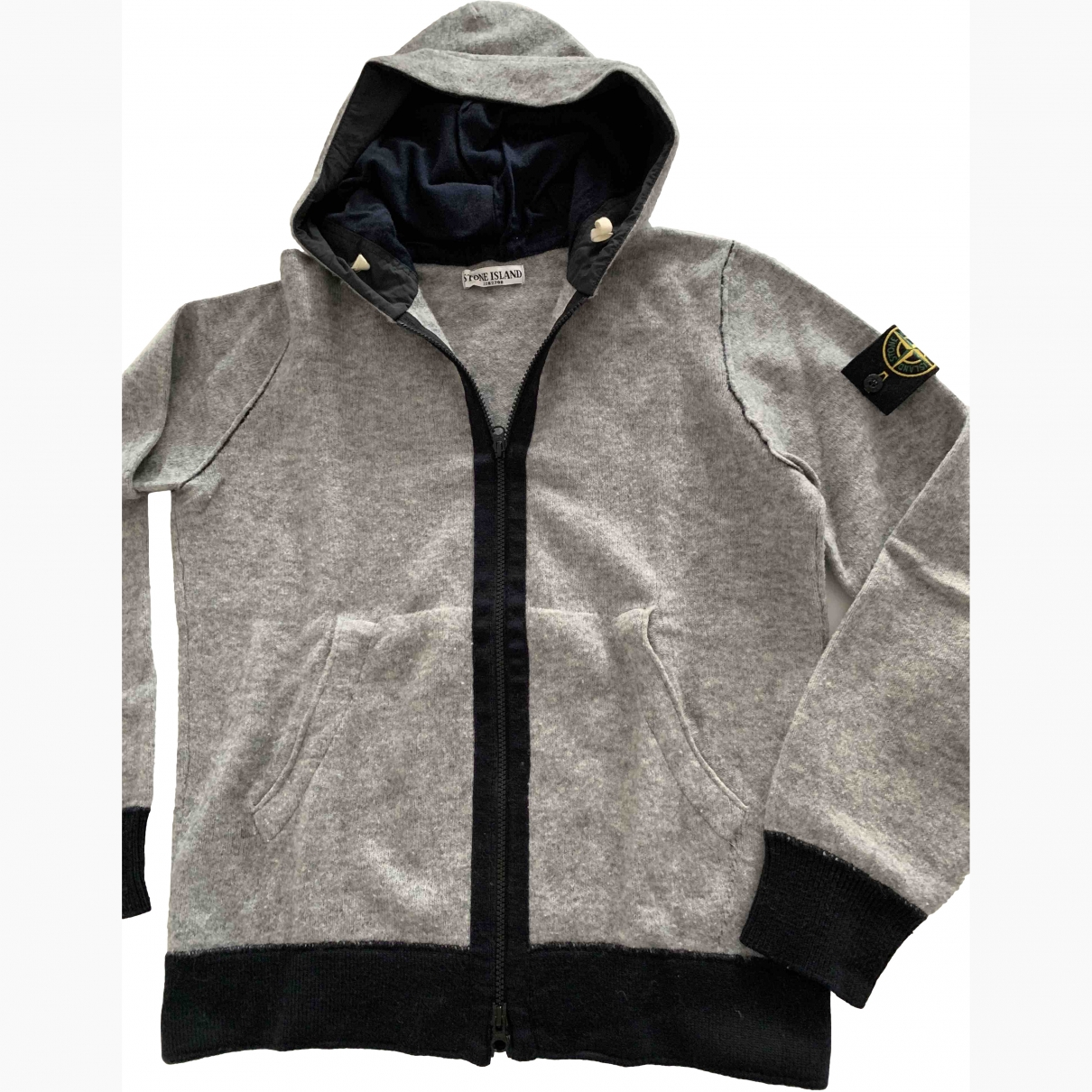 Stone Island \N Blue Wool Knitwear & Sweatshirts for Men L