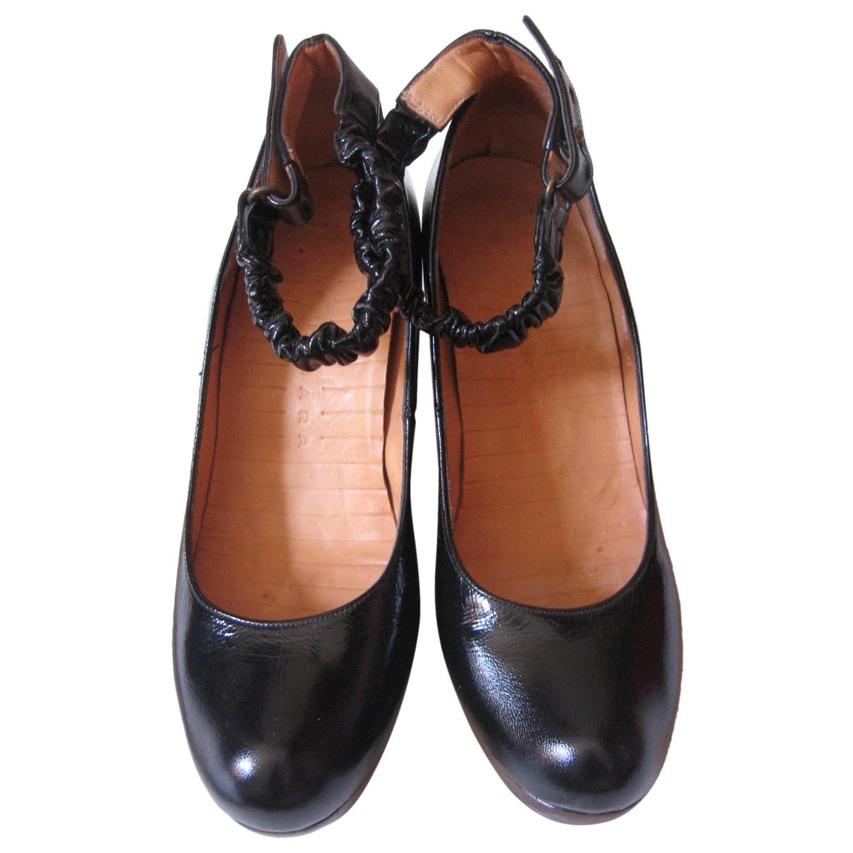 Chie Mihara \N Black Leather Heels for Women 39 EU