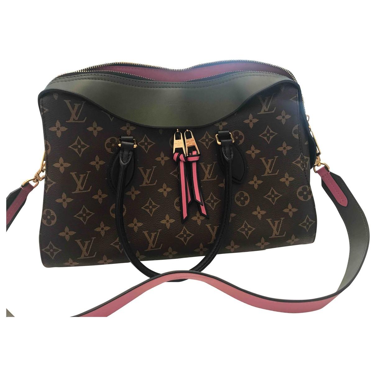 Louis Vuitton Tuileries Brown Cloth handbag for Women \N