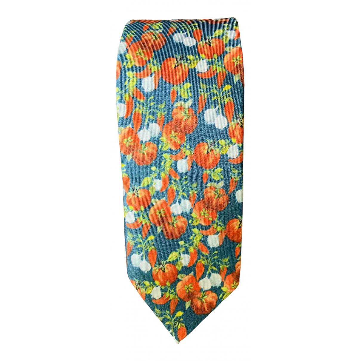 Dolce & Gabbana \N Krawatten in  Gruen Seide