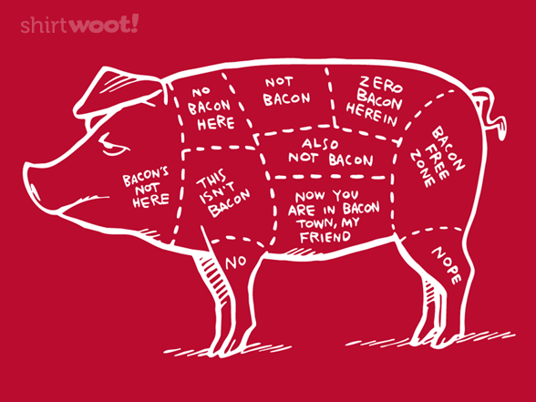 Which Way To Bacon Town? T Shirt