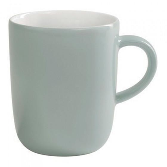 "Tasse Kahla ""Pronto Becher Mint Grey"", 350 ml"