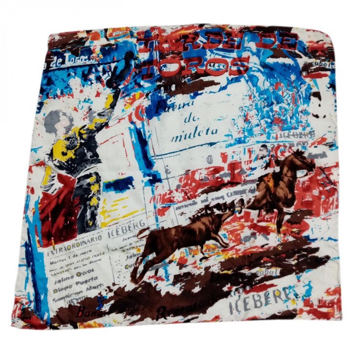 Iceberg - Foulard   pour femme en soie - multicolore