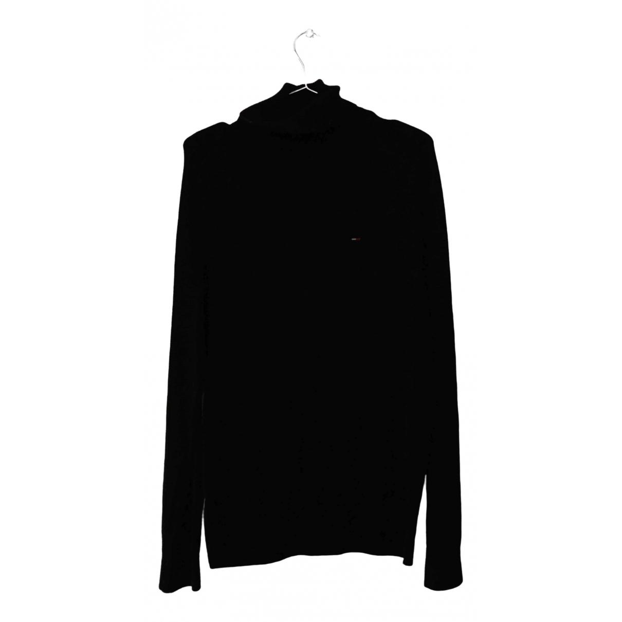 Tommy Hilfiger \N Pullover.Westen.Sweatshirts  in  Schwarz Baumwolle