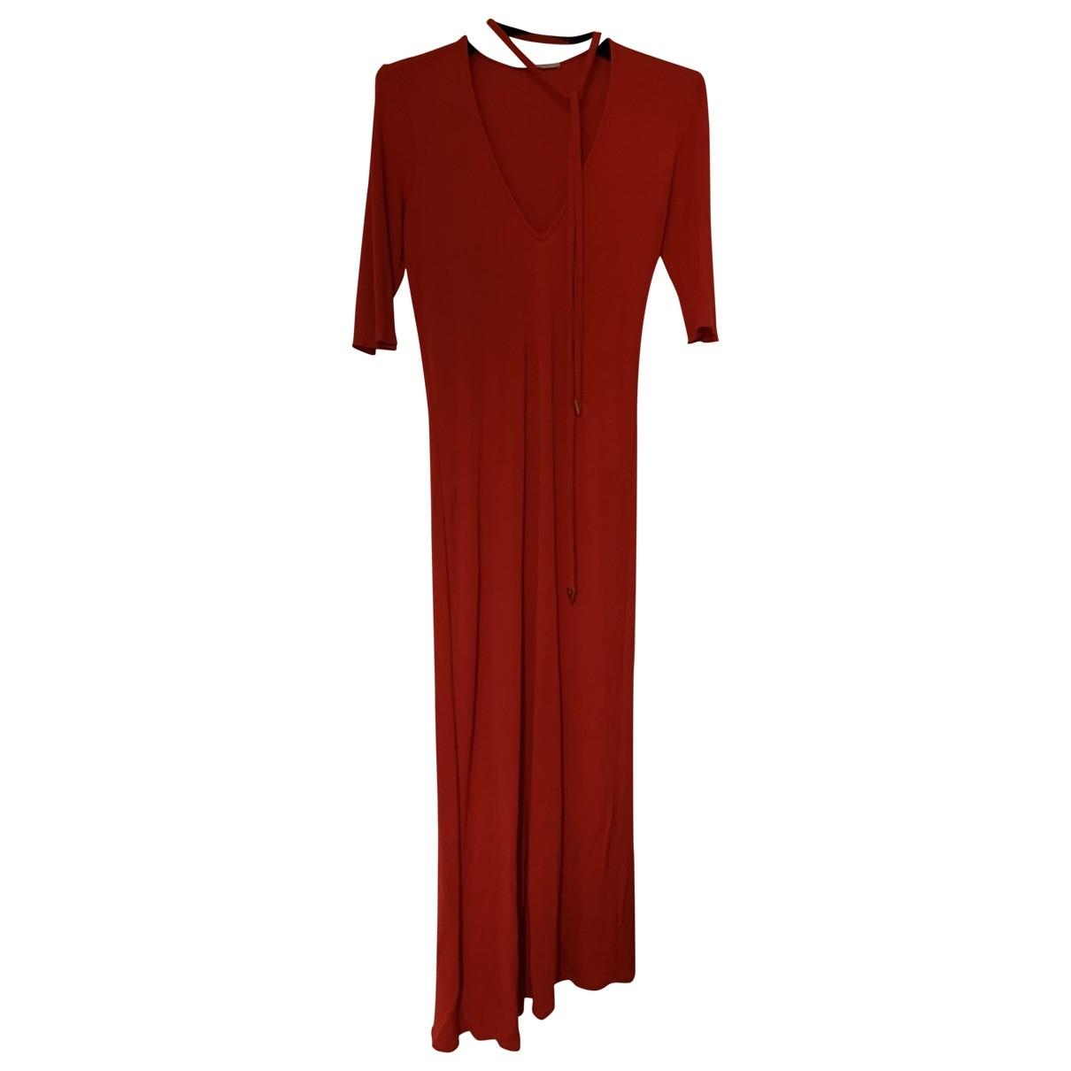 Valentino Garavani \N Kleid in  Rot Viskose