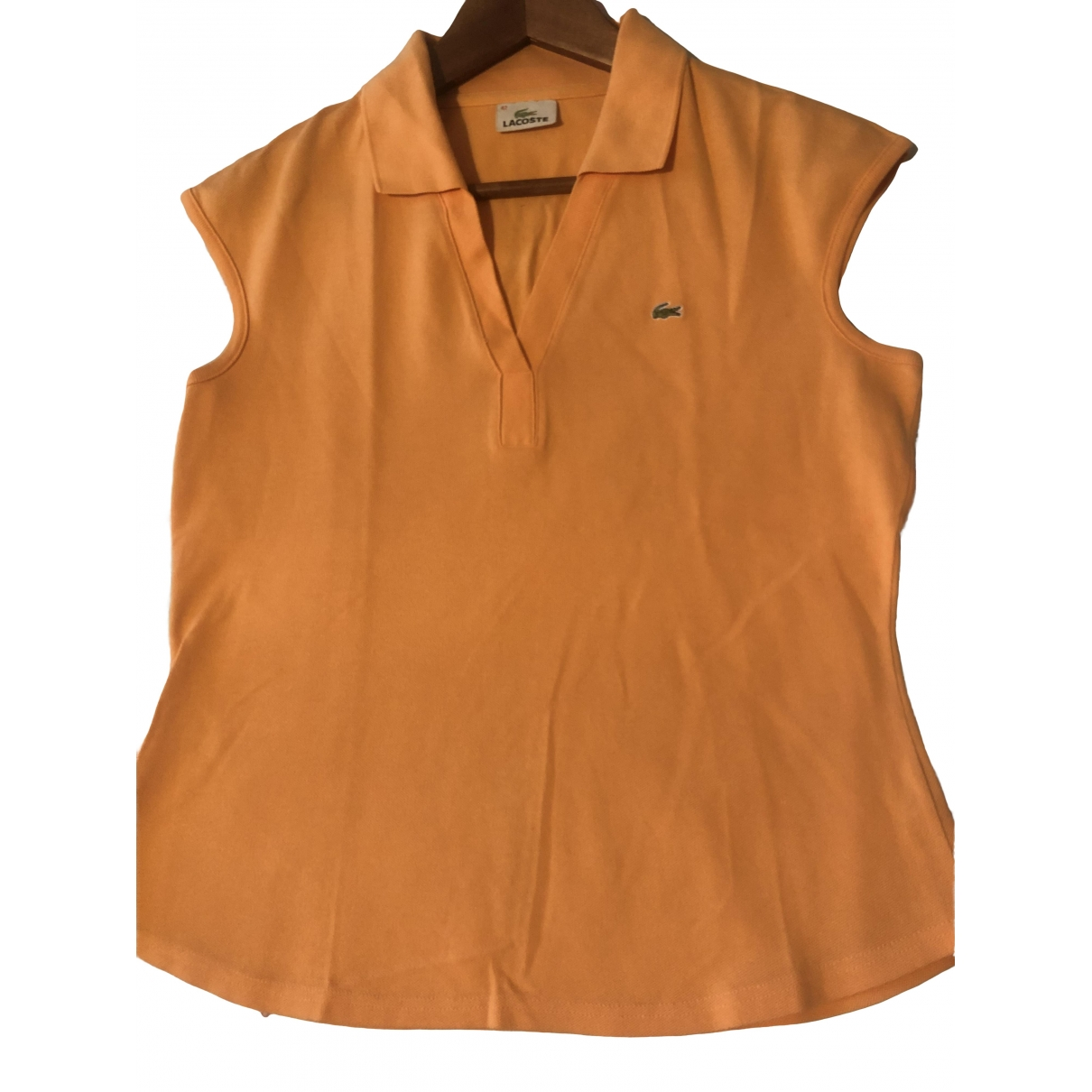 Lacoste \N Orange Cotton  top for Women 42 FR