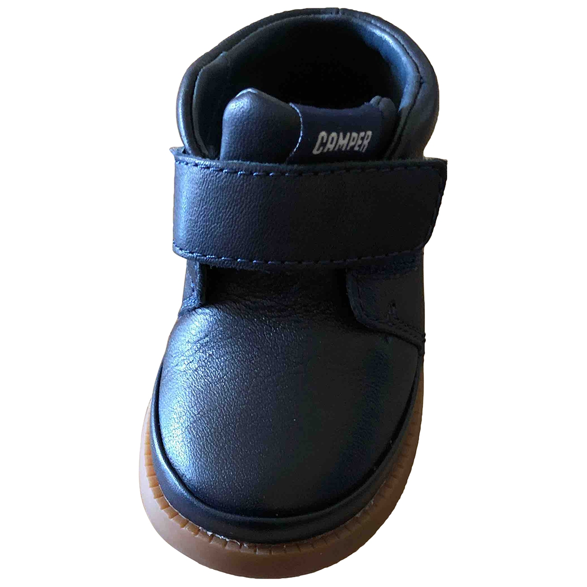 Camper \N Blue Leather First shoes for Kids 21 EU