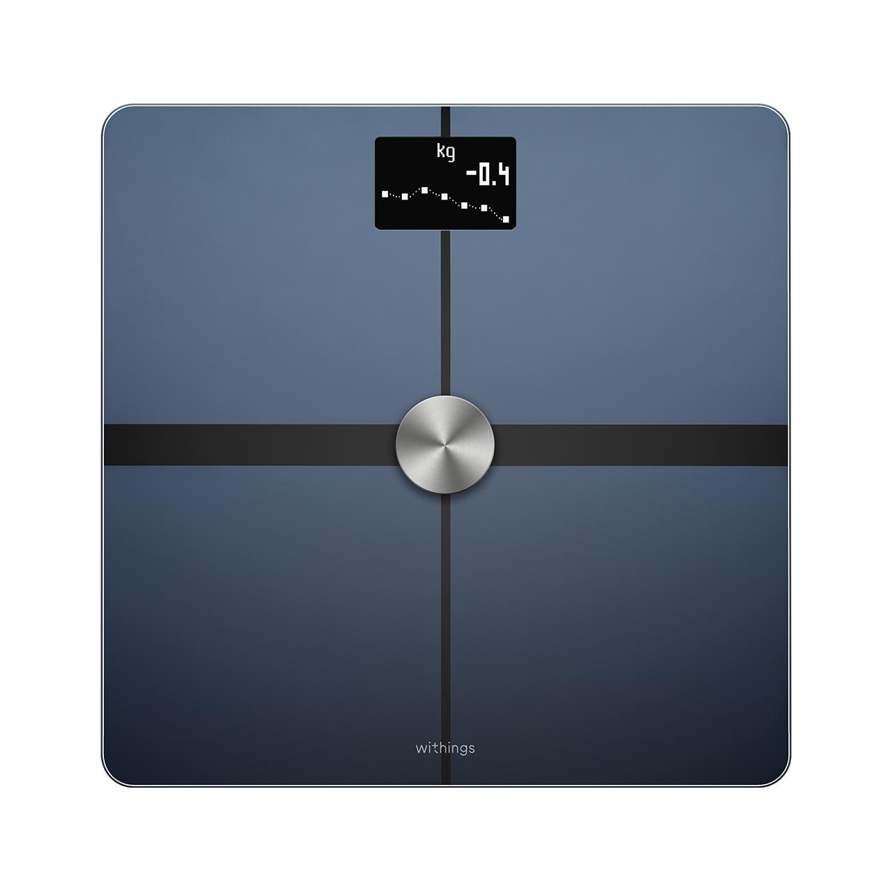 Withings Body+ (Nokia), Noir - Balance Wi-Fi avec analyse de la composition corporelle - Masse grasse et musculaire - Boutique Officielle Withings