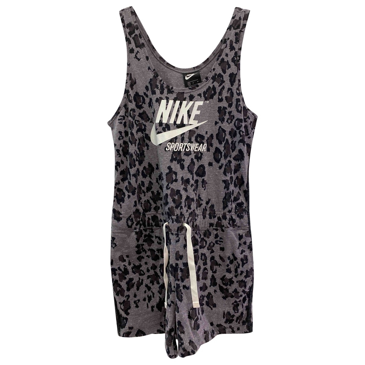 Nike \N Jumpsuit in  Grau Baumwolle