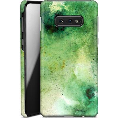 Samsung Galaxy S10e Smartphone Huelle - Abstract Galaxy - Green von Barruf