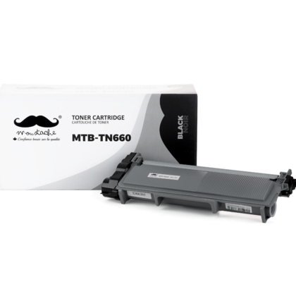 Compatible Brother DCP-L2520DW Black Toner Cartridge High Yield by Moustache