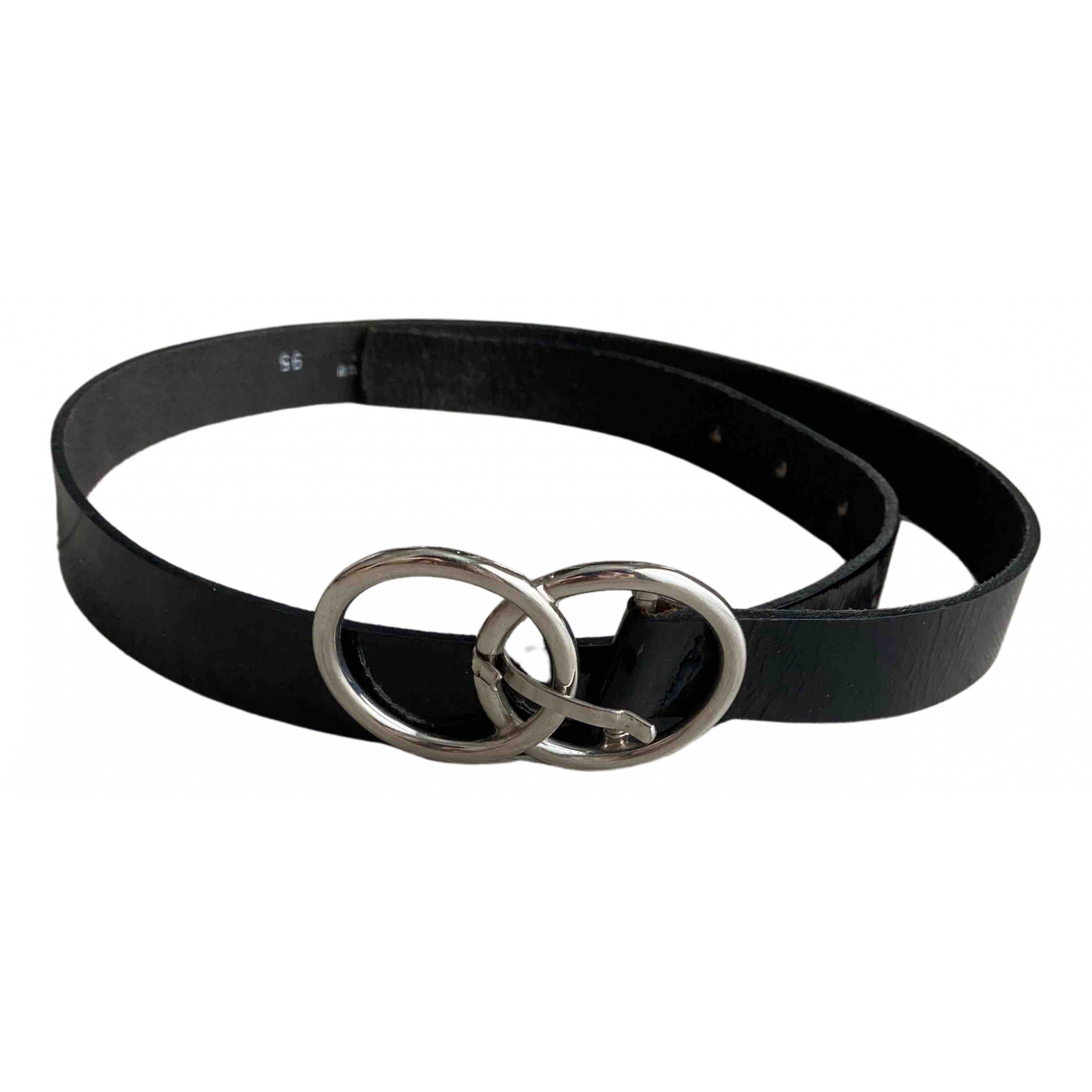 Dolce & Gabbana N Black Patent leather belt for Women 95 cm