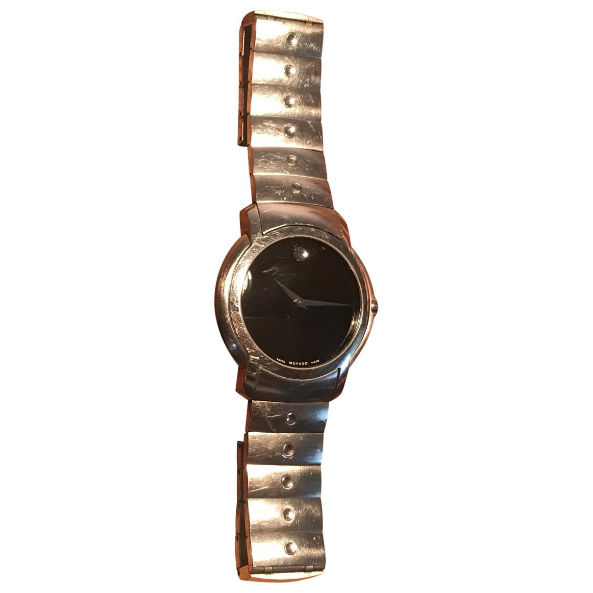 Movado - Montre   pour homme en acier - noir