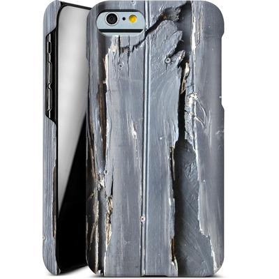 Apple iPhone 6 Smartphone Huelle - Wood Black Fence von Brent Williams