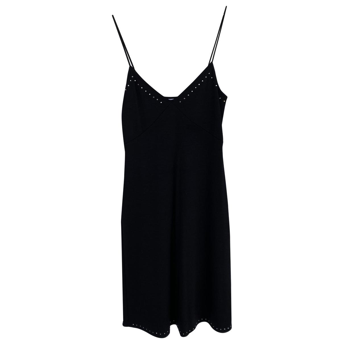 Max & Co \N Kleid in  Schwarz Wolle