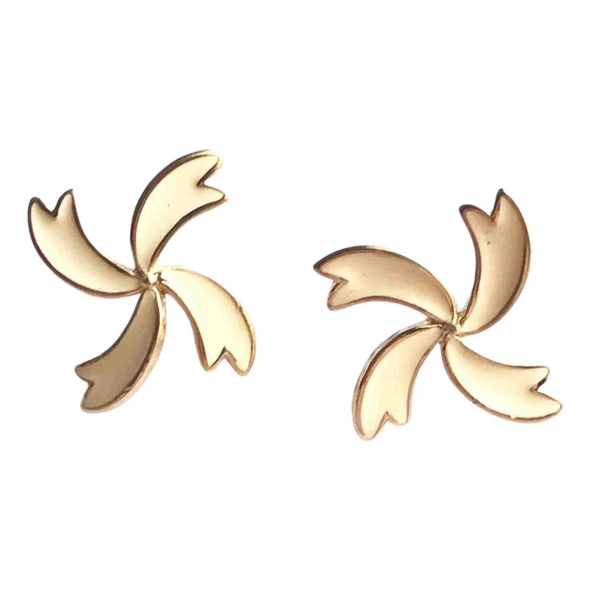 Trifari \N OhrRing in  Gold Metall