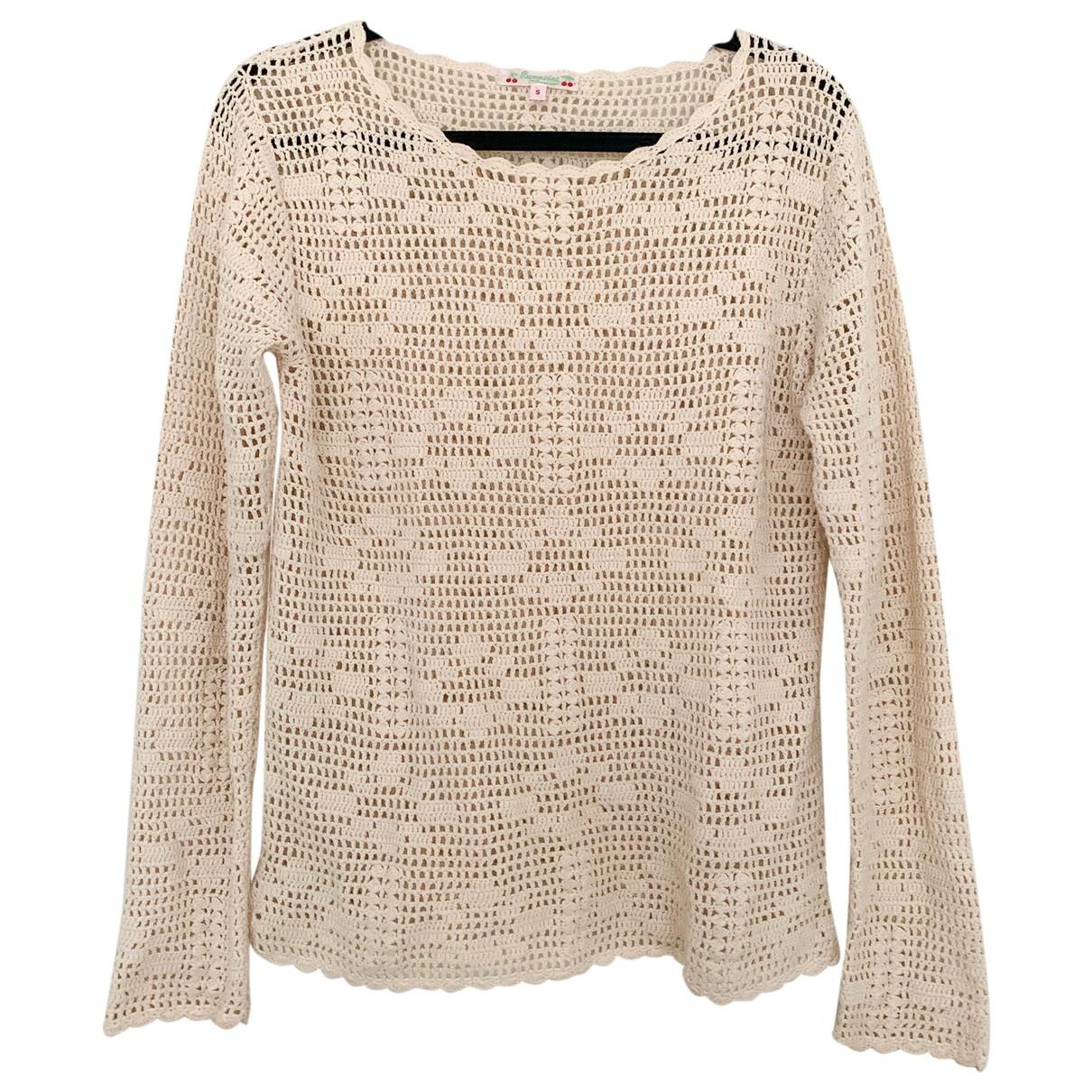 Bonpoint \N Beige Cotton Knitwear for Women S International