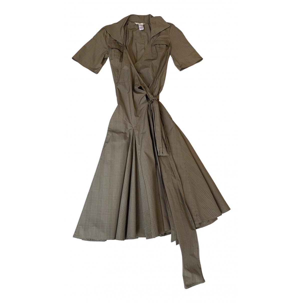 Diane Von Furstenberg \N Beige dress for Women 6 US