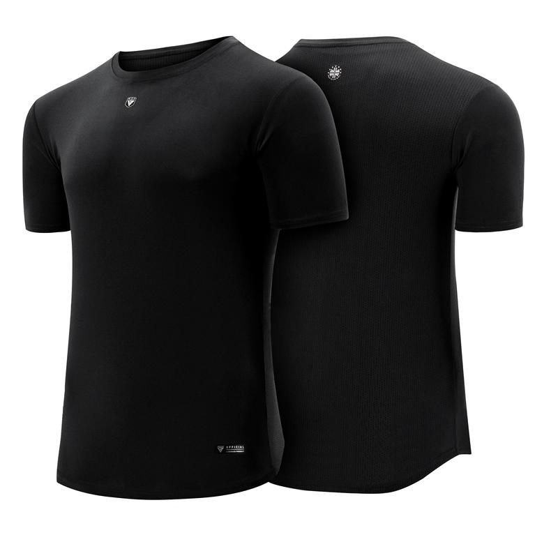 RDX T1 Short Sleeve T-Shirt Polyester Extra Large Black