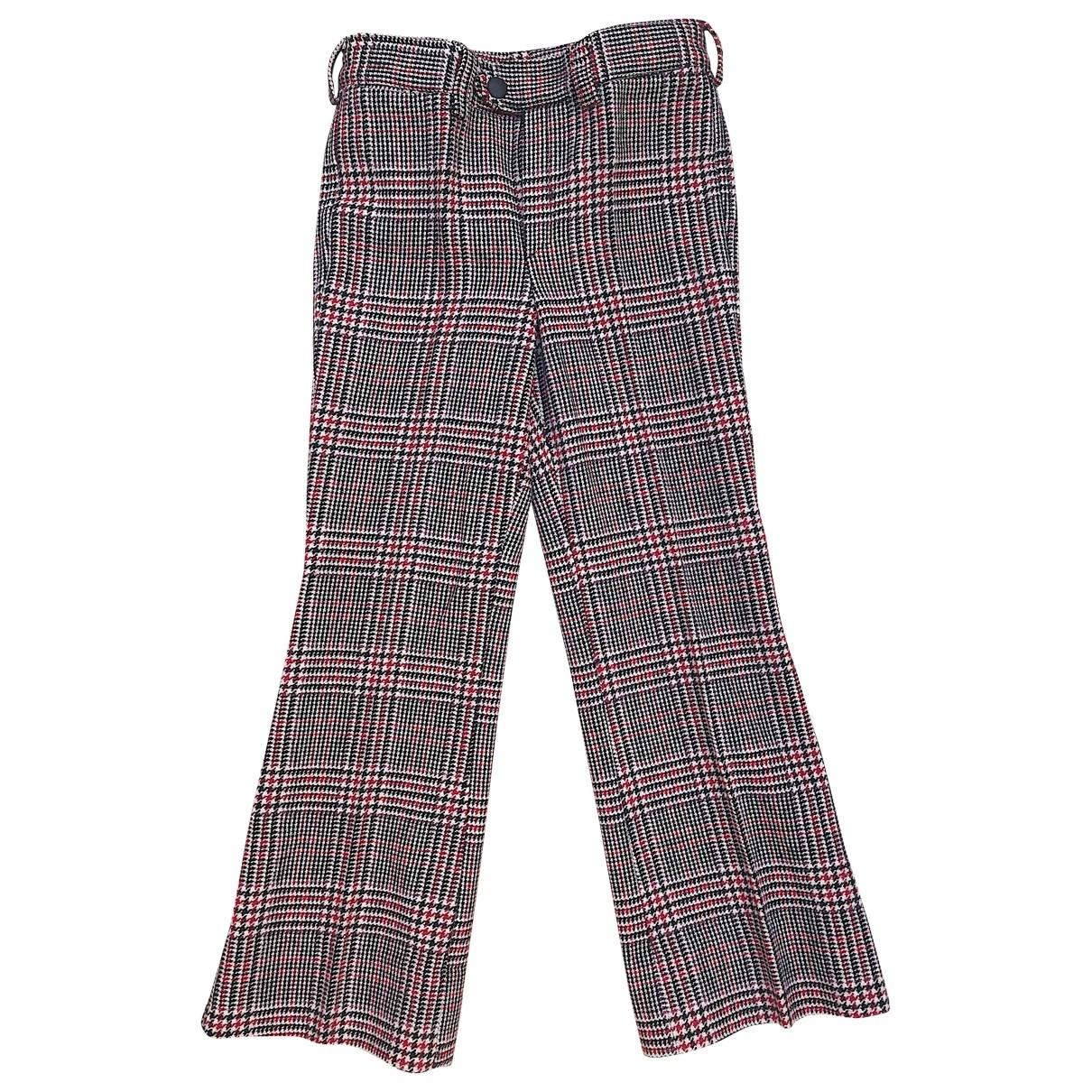 - Pantalon   pour enfant en laine - multicolore