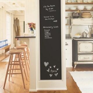 Calimesa, Vintage Chalkboard Peel & Stick Wallpaper (Blacks)