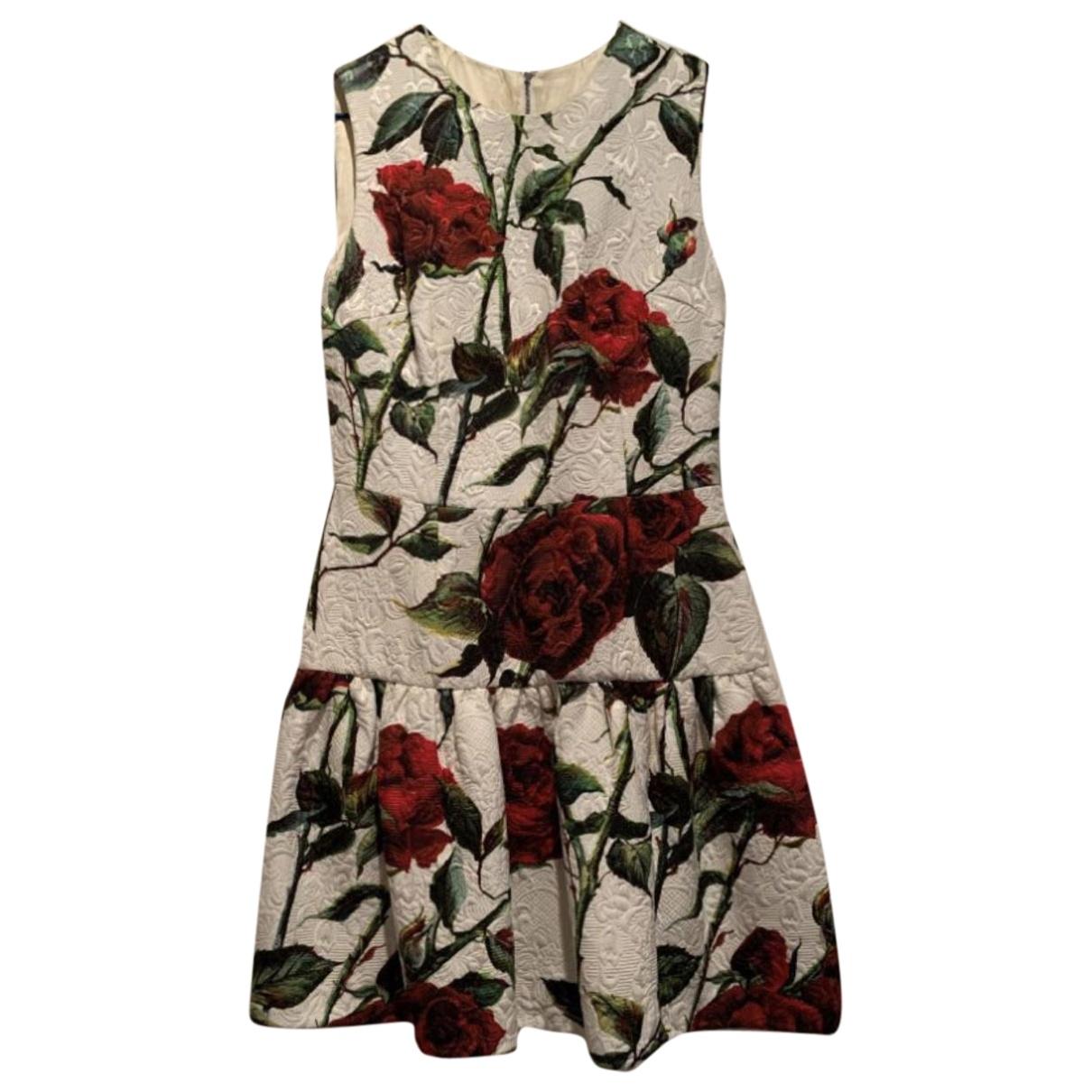 Dolce & Gabbana \N Kleid in  Bunt Synthetik